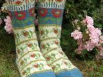 Roman de la Rose - socks image