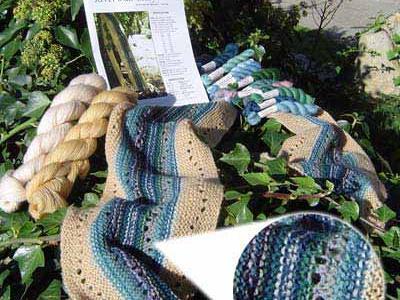 Riverwide - Lace knitting kit