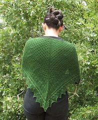 Miriam wearing shawl