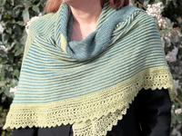 Ondine shawl by Helene Marcy