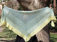 Ondine shawl