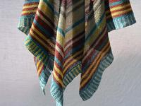 winter in creuse shawl