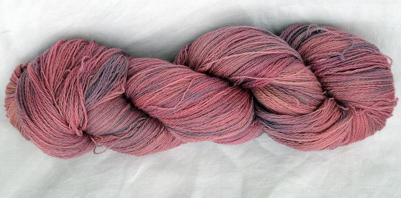 100g lace-weight - violets