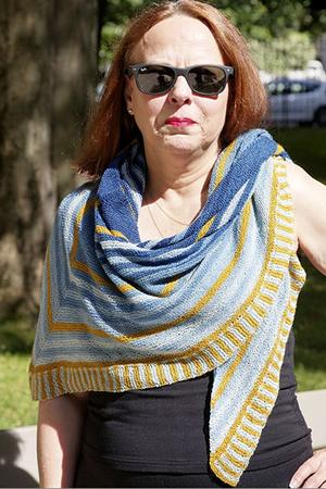 Summer in Lot Shawl