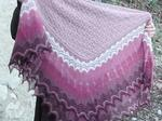 Genevieve Shawl Lace Knitting Kit  image