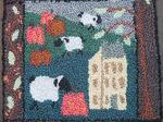 Punch Needle Kit - Meadow Sheep image