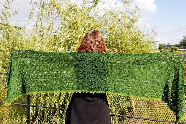 evergreen shawl 1