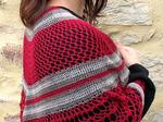 The Lady in Red Shawl designed by Annette Petavy image