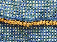 Tweedy scarf  - detail
