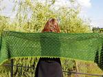 Evergreen Shawl by Hélène Marcy image