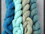 Sale 250m lace-weight set of 4 -  Light Biscay image