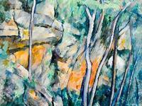 Dans le Parc - Cézanne
